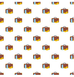 lunchtime pattern seamless vector image
