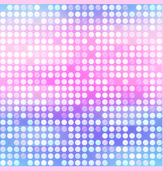 purple points seamless pattern vector image