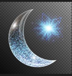 Ramadan mubarak design vector