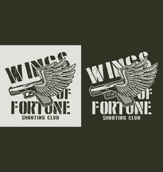 Vintage military and army badge vector
