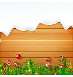 Abstract background realistic nature wood with red vector image