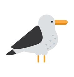 Great gull bird vector image vector image