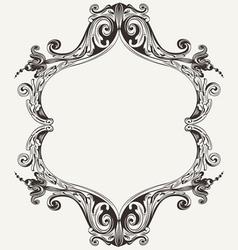 Antique Vintage Royal Frame vector image vector image