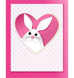 Handmade Easter card vector image