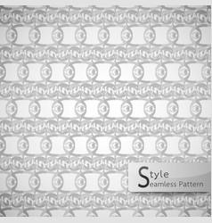 abstract seamless pattern mesh eyes monochrome vector image vector image