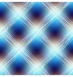 Blue checkered diagonal vector
