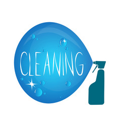cleanind symbol vector image