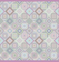 Geometric diagonal square pattern - mosaic tile vector