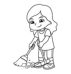 broom clean vector images over 15 000 vectorstock