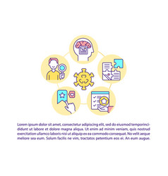 Justifiable and logical appeal concept line icons vector