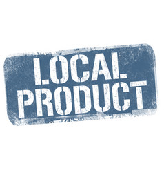 local product sign or stamp vector image