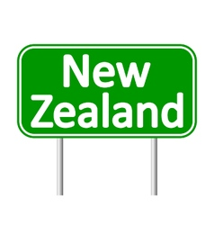 New Zealand road sign vector