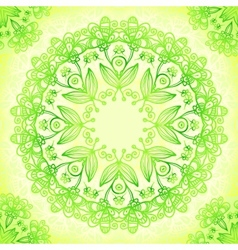 vintage lacy decorative ornate background vector image