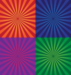 colorful background design elements vector image vector image