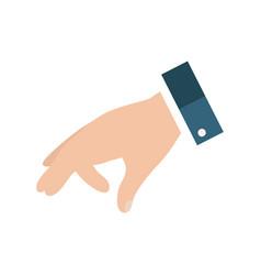 Open empty hands showing different gestures hands vector