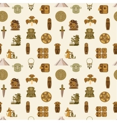Maya Seamless Pattern vector image