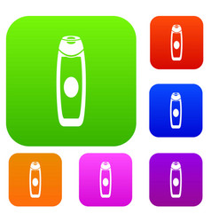 deodorant set collection vector image