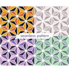 seamless pattern set 12 vector image