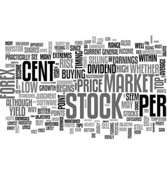 When to buy shares or trade the forex for maximum vector
