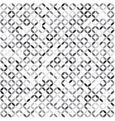 abstract geometric seamless pattern grey style vector image