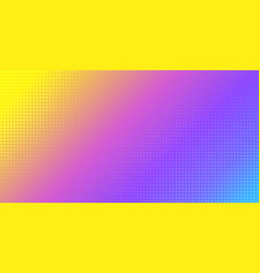 abstract vibrant gradient background halftone vector image