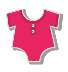 baby wear suit vector image