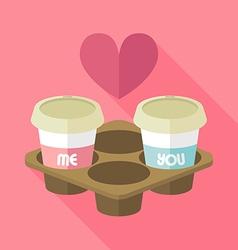 Coffee MY vector image
