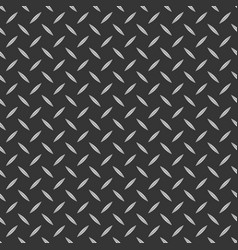 Diamond plate metal texture background striped vector