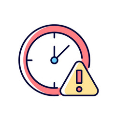 Do not use for a long time rgb color manual label vector