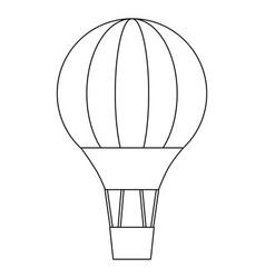 Hot air balloon design vector