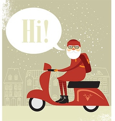 Mr Santa vector