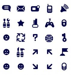 pictograms vector image vector image