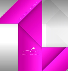 Pink Layout vector image