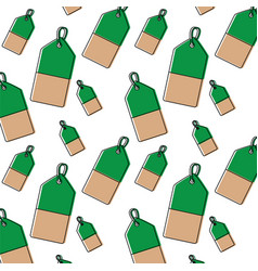 Price or gift tag pattern image vector