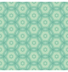 Seamless pattern with mosaic lace ornament vector image vector image