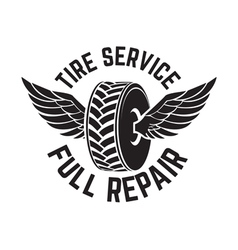 Tire service2 vector