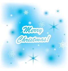 christmas background - merry christmas vector image