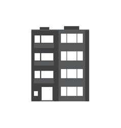modern multistory house icon vector image