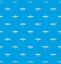 airplane pattern seamless blue vector image