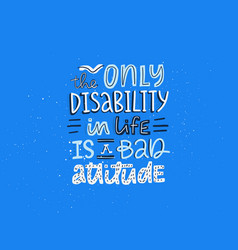 Dont judge disability vector