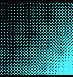 geometric halftone dot pattern background vector image