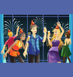 New year celebration party vector