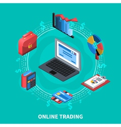 Online Trading Isometric Round Composition vector