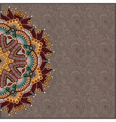 Pattern in ukrainian oriental ethnic style for vector