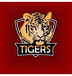 professional sports logo emblem template vector image
