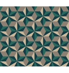 Seamless Hexagonal Triangles Rhombus vector