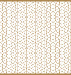 seamless traditional japanese ornament vector image