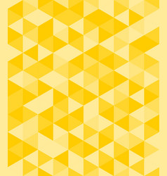 Tile background with yellow triangle geometric mos vector