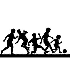 young soccer talent vector image vector image