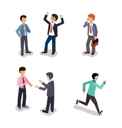 Business People Everyday Life vector image